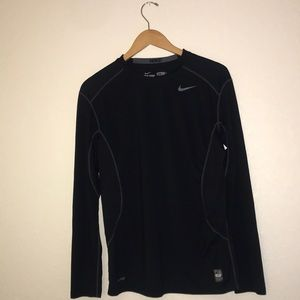 Nike Pro Combat Dri-Fit fitted Long Sleeve Shirt